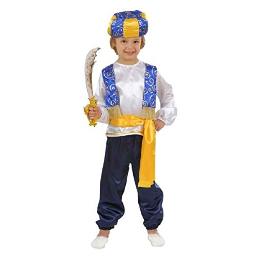Children's Arab Prince Child Costume For Alladin Fairytal...