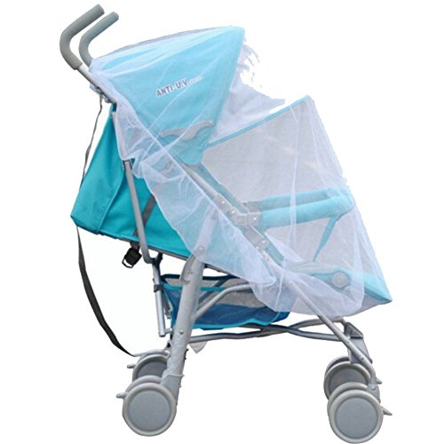 Mosquito Net Bug Net for Baby Strollers Carriers Car Seats Insect Netting for Infant Cradles Bassinets Cribs by IBLUELOVER