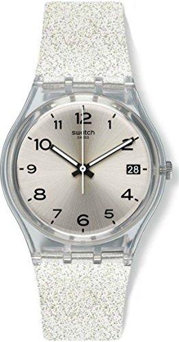 Swatch Women's Digital Quartz Watch with Silicone Strap GM416C