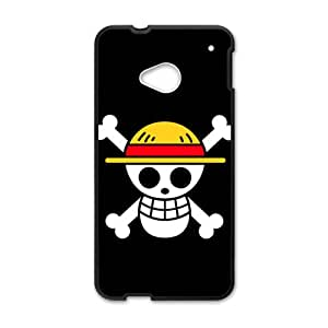 Cute Skull White Phone Case for HTC M7