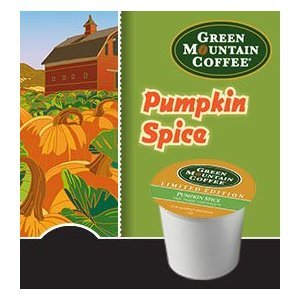 Green Mountain Coffee Fair Trade Pumpkin Spice K-Cups 80 Count Value Box from Green Mountain Coffee