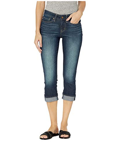 Signature by Levi Strauss & Co Women's Mid-Rise Slim Fit Capris, Splendor, -
