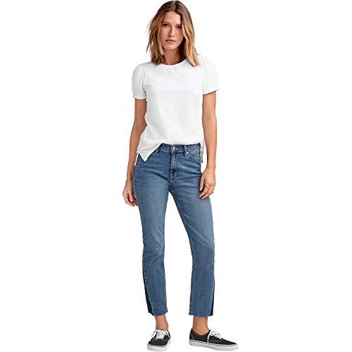 Ellos Women's Plus Size Puff Sleeve Tee - White, 18/20