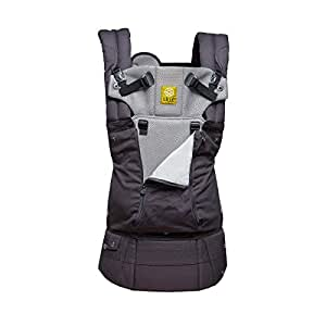 LÍLLÉbaby Complete All Seasons Six-Position 360° Ergonomic Baby and Child Carrier, Charcoal/Silver