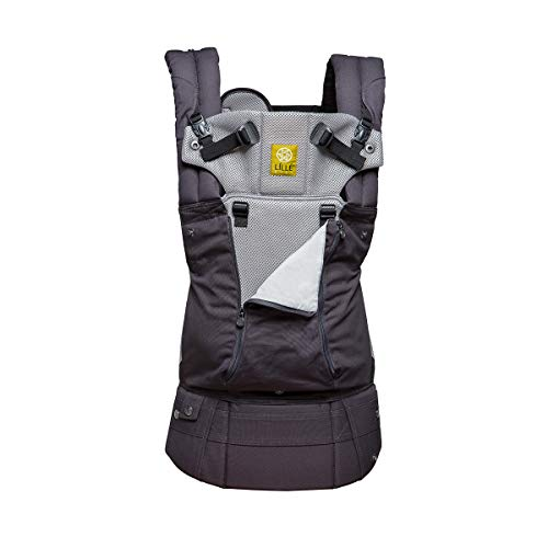 - LÍLLÉbaby The COMPLETE All Seasons SIX-Position, 360° Ergonomic Baby & Child Carrier, Charcoal/Silver - Comfortable and Ergonomic, Multi-Position Carrying for Infants Babies Toddlers