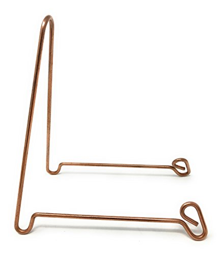 (Bowl Stand, Large, Copper Colored Steel)