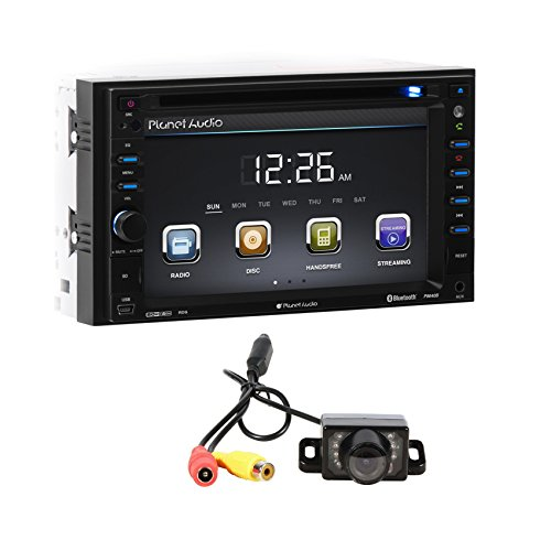 "Planet Audio P9640B 6.2"" Double DIN In-Dash Car Monitor DVD"