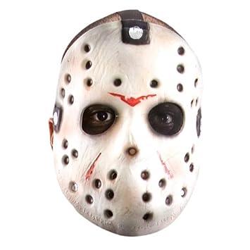 Viernes 13 de la máscara de terror Jason Voorhees de Carnaval Halloween, espuma