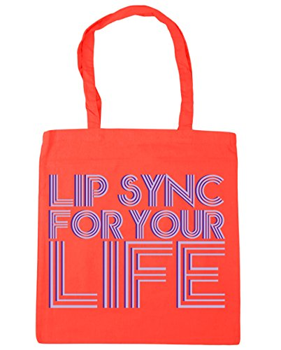 Beach life Coral litres for Shopping your 10 Tote Gym HippoWarehouse sync Bag x38cm Lip 42cm w6WpqWI8