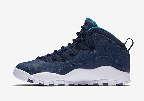 Air-Jordan-Retro-10-Mens-Basketball-Shoes-310805-404-BlackVenom-Green-Cool-Grey-Anthracite-14-US