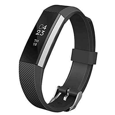 Fitbit Alta Band, UMTELE Soft Replacement Wristband with Metal Buckle Clasp for Fitbit Alta Smart Fitness Tracker