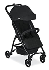 The B Mobile Lightweight Stroller comes through in the clutch during weekend activities and family vacations. The lightweight design, compact fold, and hands free carry strap make this Britax stroller easy to navigate, transport, and store. T...