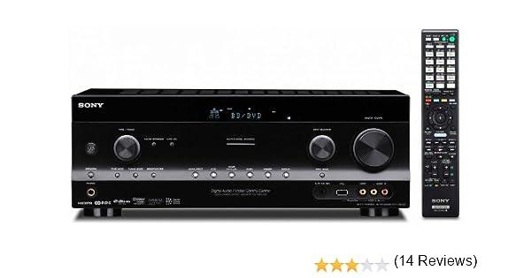 Sony STR-DN1020 - Receptor AV (105W, 7.1, 6,3 mm, AAC, MP3, WAV ...
