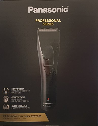 Panasonic Professional Cordless Corded Hair clipper for Precision cutting