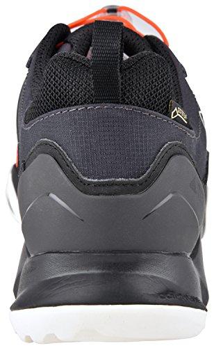 Adidas Herren Terrex Swift R Wandern Sneaker Schuhe Schwarz / Schwarz / Weiß