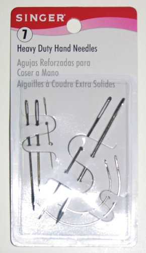 Singer Heavy Duty Assorted Hand Needles, - Singer Leather Sewing Machine
