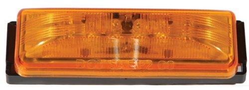 Bluhm Enterprises BL-TRLEDSQR Red Rectangle Trailer Light (3-Led 42-3055)