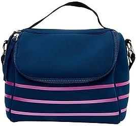Cynthia Rowley Lunch Bag Multi Navy
