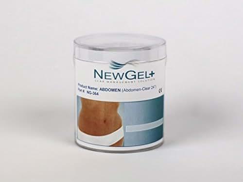 NewGel+ E 24inch X 2inch Abdomen Clear (1 per box)
