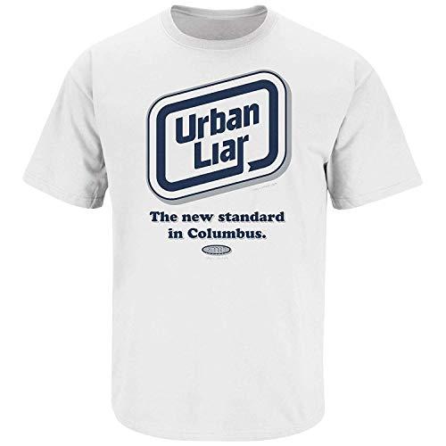 Penn State Football Fans. Urban Liar White T-Shirt (S-5X) (Small, White)