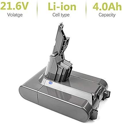 Bonacell 21,6 V 4000 mAh batería de repuesto para Dyson V7 – Compatible con Dyson V7 Animal, V7 Trigger, V7 Motorhead Pro, V7 Fluffy, V7 Mattress – Batería de ion de litio: