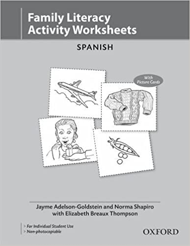 Worksheets Bilingual Worksheets oxford picture dictionary activity worksheets spanish pack of 10 bilingual for speaking teenage and adult st