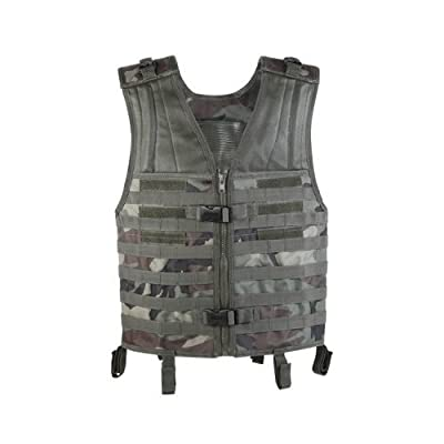 VooDoo Tactical 20-7210082000 Deluxe Universal Vest, Multicam