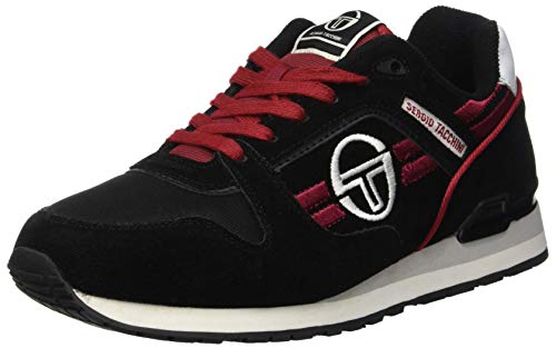 Noir Authentic black Hommes Baskets Sergio Tacchini Sonic Pour 03 OR6qwfPz