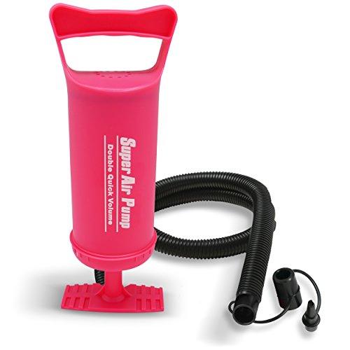 "10/"" Portable Manual Bothway Inflator Pump for Yoga Ball Fitball Sport Balloon"