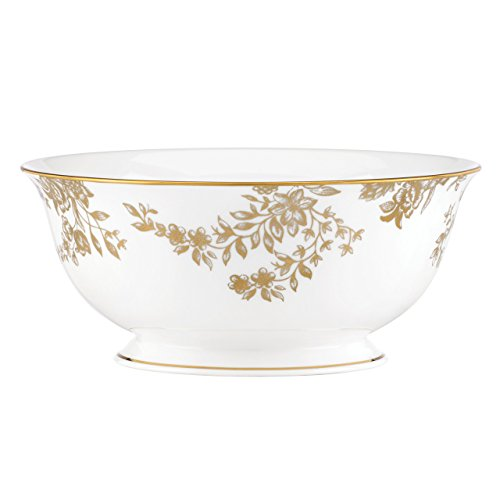 Lenox Marchesa Gilded Forest Serving Bowl, White -  845912