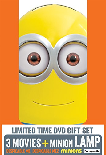 Despicable Me 3-Movie Collection - Limited Edition (DVD + Minion Lamp) (Despicable Movie)