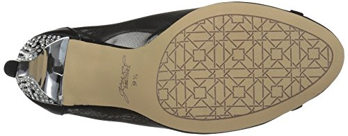 Badgley Mischka Juvel Womens Anastasia Krenget Sandal Sort
