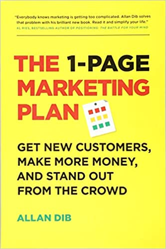 Book Title - The 1-Page Marketing Plan