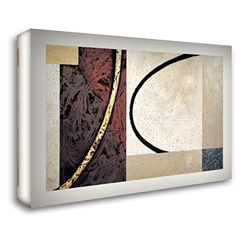 Line and Verse #II5 24x18 Gallery Wrapped Stretched Canvas Art by Holland, Cynthia