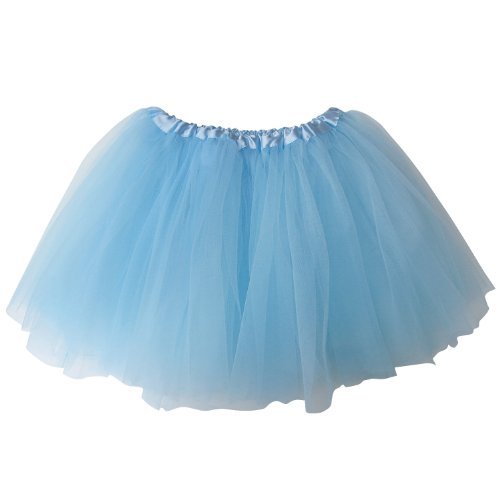 Superhero Dance Costumes (So Sydney Ballerina Basic Girls Ballet Dance Dress-Up Princess Fairy Costume Dance Recital Tutu (Light)