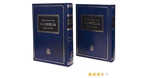 La Biblia: Hebreo-Español (Tanakh, Tanach): Amazon.es: Editions ...