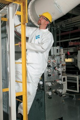 KleenGuard® A40 Liquid & Particle Protection Coveralls - 3x large kleenguard xp white ()