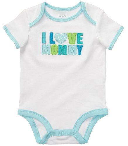 Carter's Baby Boy 'I Love Mommy' Bodysuit