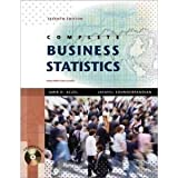 Complete Business Statistics with Student CD 7th (Seventh) Edition byAczel