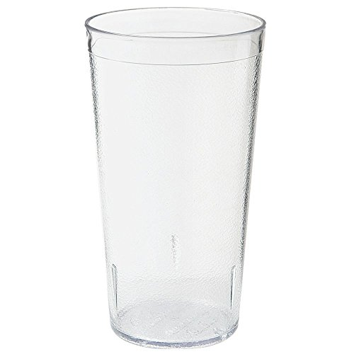 (G.E.T. Stackable Textured Clear 16 Oz Tumbler)