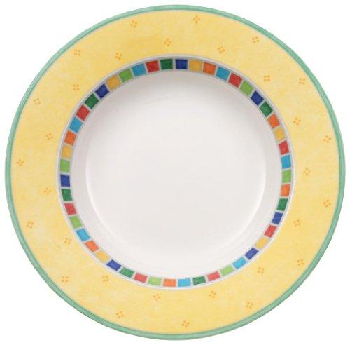 Villeroy & Boch Twist Alea Limone Rim Soup Bowl Alea Dishwasher Safe Plates