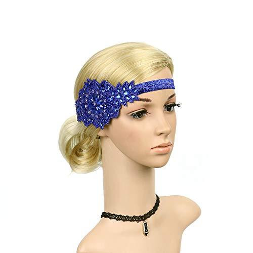 Starcy Flapper Headband Pearl Charleston Headwear Party Bridal ()