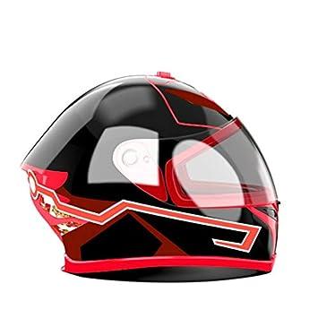 Toogoo Motorrad Helm El Kalt Licht Helm Licht Streifen Nacht