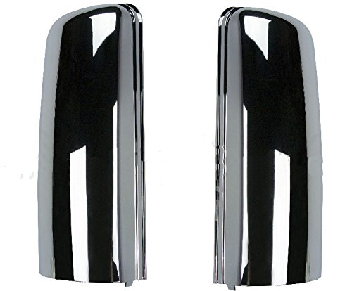 TR038-L TR038-R Freightliner Cascadia Truck Chrome Door Mirror Cover Set Pair 2008-2016