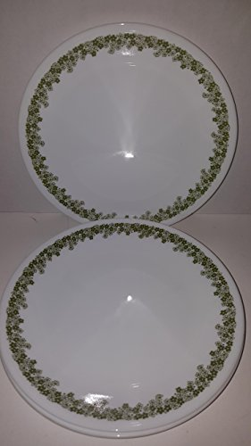 "Corelle - Spring Blossom Green (Crazy Daisy) - 8-1/2"" Luncheon/Dessert/Salad Plates (Set of 4)"