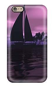 Iphone 6 Case Cover Skin : Premium High Quality Hd Blue Rose Case
