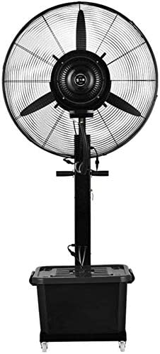 強力ファン ファン 強力ファン ファン 速い冷却のための屋内/屋外の地位の床ファンを振動させるスプレーの冷却の振動ファンの換気装置 - 3速度、3ギヤ10時間の容積42リットル,サイズ:710mm