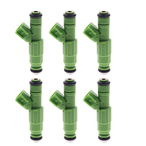AUTOKAY 6 PCS Fuel Injectors 0280156007 For Dodge Caravan Chrysler Town & Country 3.3 V6