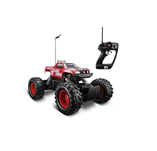 Rc Cars-Monster Trucks-Remote Control 4WD Tri-Band Off-Road Rock Crawler RTR Monster Truck- Cars Toys--Full function remote control moves forward, backward, turns left and right Tri Band function allows to race three trucks at the same time Equipped with two (2) motors -Ready to cruise roads-Guarenteed