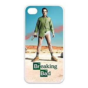 Gdragonhighfive Cell Phone Case Film TV Breaking Bad Season 1 Poster Hard Shell Case for Iphone 4/4s (TPU)